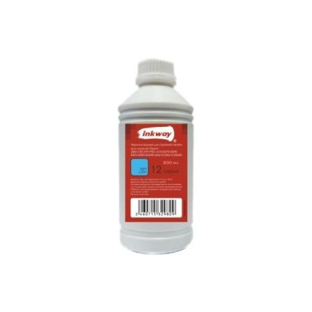 Чернила №12 для Epson Водные 500ML LIGHT CYAN (INKWAY)