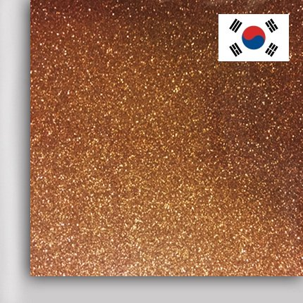 Пленка PROFI FLEX Glitter (DMGL-07) Copper, 1м