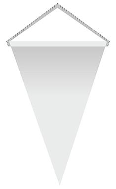 Вымпел двухсторонний треугольный