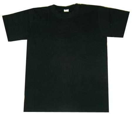 Черные футболки для сублимации